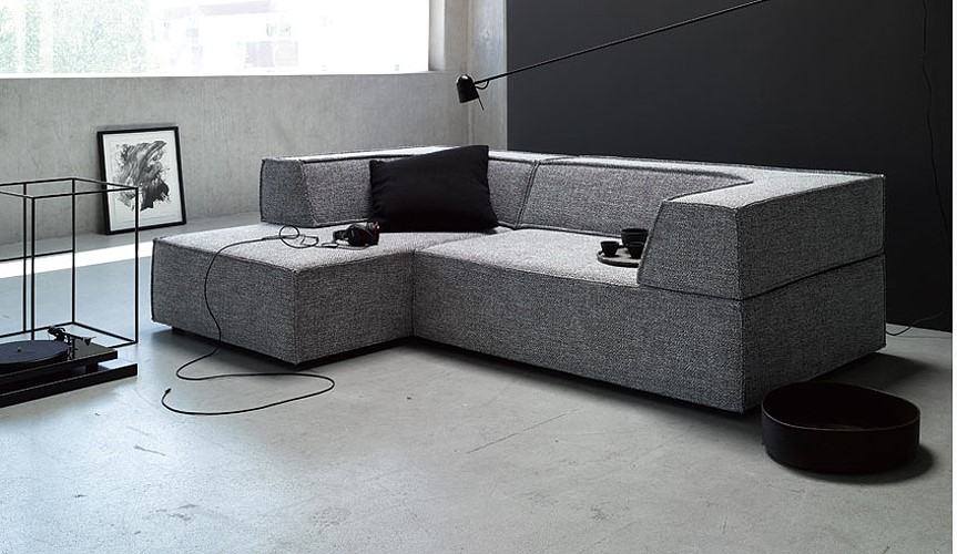 das sofa trio von cor wohnen ideen oldenburg. Black Bedroom Furniture Sets. Home Design Ideas