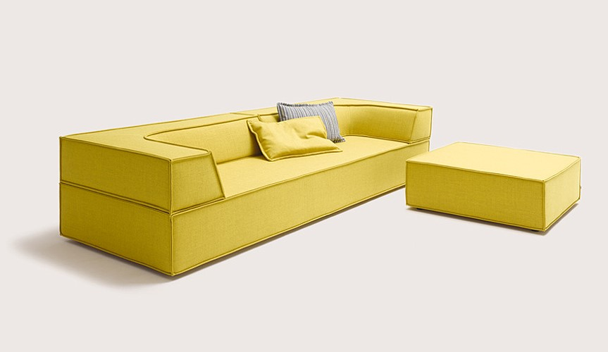 das sofa trio von cor wohnen ideen oldenburg. Black Bedroom Furniture Sets. Home Design Ideas